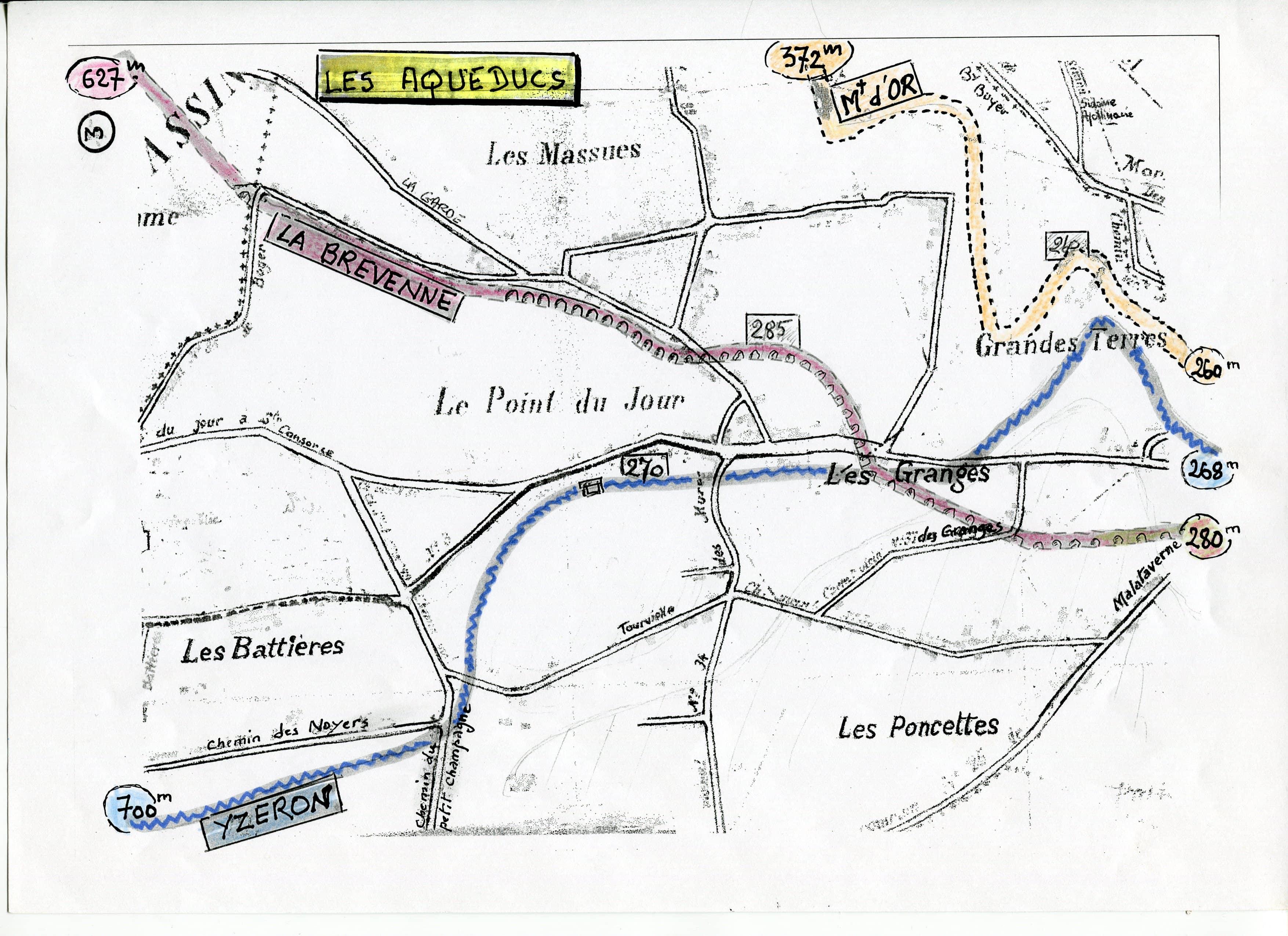 La place, l'avenue et l'étang du Point-du-Jour - ARHOLY